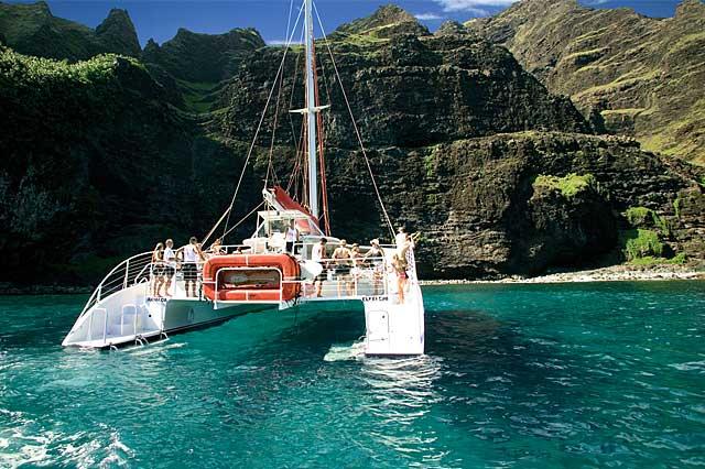 Kauai Boat Tours Na Pali Coast Tours Capt Andy S