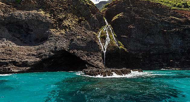 Kauai Rafting (Zodiac) – Na Pali Raft Tours – Capt Andy's