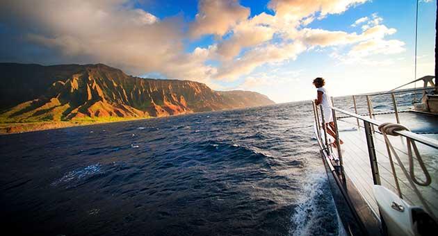 Star Na Pali Dinner Sunset Sail
